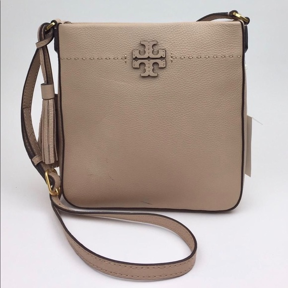 Tory Burch Handbags - TORY BURCH McGraw Leather Crossbody Tote